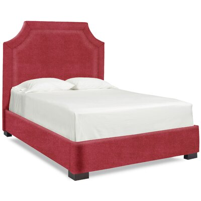 Dreamtime Upholstered Panel Bed Upholstery: Cherry, Size: Queen