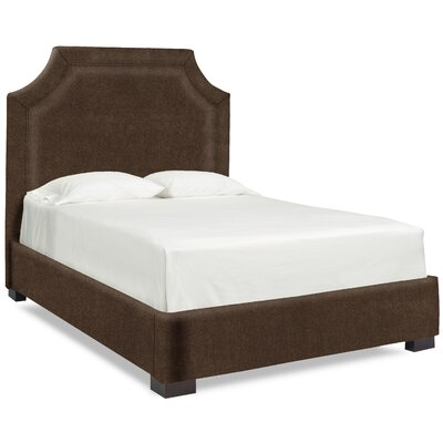 Dreamtime Upholstered Panel Bed Upholstery: Chocolate, Size: Queen