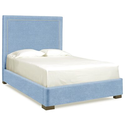 Dreamtime Upholstered Panel Bed Upholstery: Sky, Size: Queen
