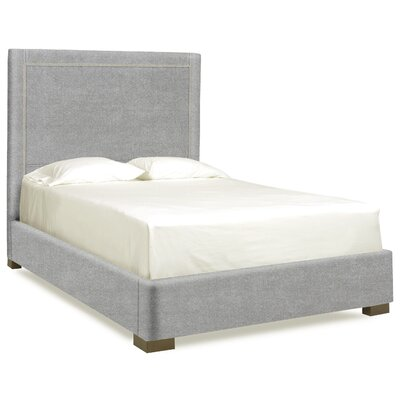 Dreamtime Upholstered Panel Bed Size: Queen, Color: Pewter