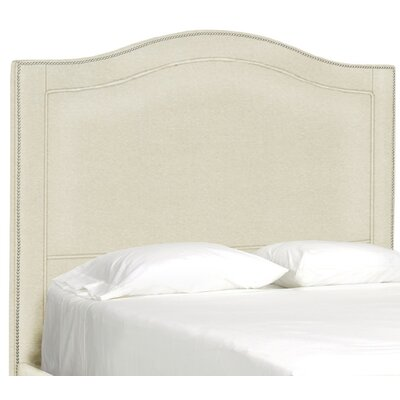 Dreamtime Upholstered Panel Headboard Size: Full, Upholstery: Cream
