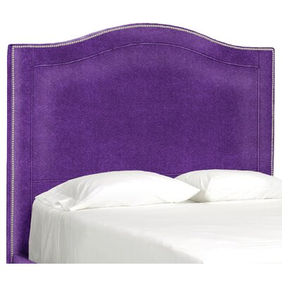 Dreamtime Upholstered Panel Headboard Size: Queen, Upholstery: Eggplant