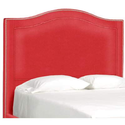 Dreamtime Upholstered Panel Headboard Upholstery: Scarlet, Size: Queen