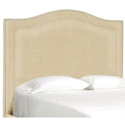 Dreamtime Upholstered Panel Headboard Size: Full, Upholstery: Beige