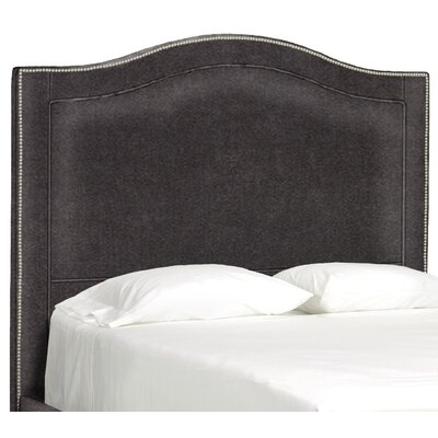 Dreamtime Upholstered Panel Headboard Upholstery: Dark Ash, Size: Queen