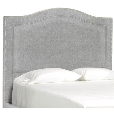 Dreamtime Upholstered Panel Headboard Size: Queen, Upholstery: Pewter