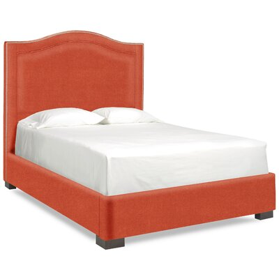 Dreamtime Upholstered Panel Bed Size: Queen, Color: Tangelo