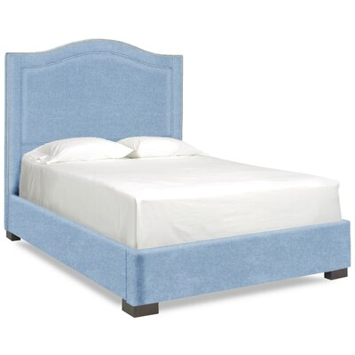 Dreamtime Upholstered Panel Bed Size: Full, Color: Sky