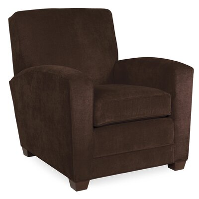 City Spaces Lexington Arm Chair Color: Chocolate