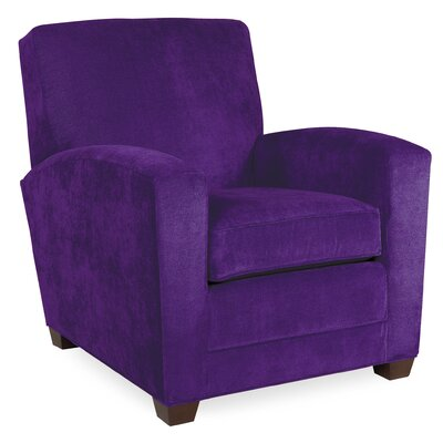 City Spaces Lexington Arm Chair Color: Eggplant