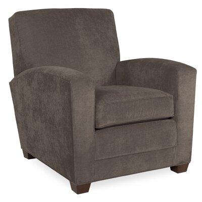 City Spaces Lexington Arm Chair Color: Truffle