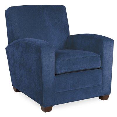 City Spaces Lexington Arm Chair Color: Navy