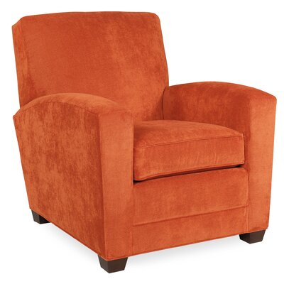 City Spaces Lexington Arm Chair Color: Tangelo