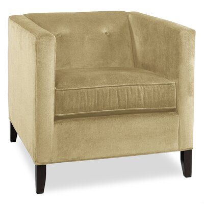City Spaces Park Avenue Armchair Color: Beige