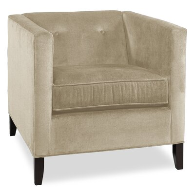 City Spaces Park Avenue Armchair Upholstery: Cream