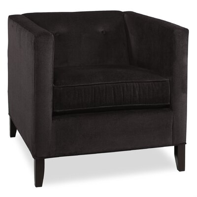 City Spaces Park Avenue Arm Chair Color: Dark Ash