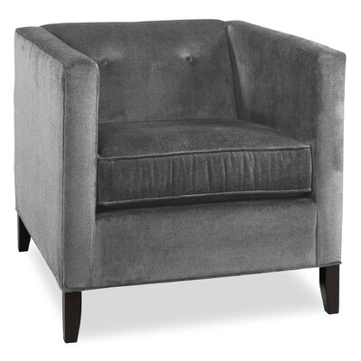 City Spaces Park Avenue Armchair Upholstery: Pewter