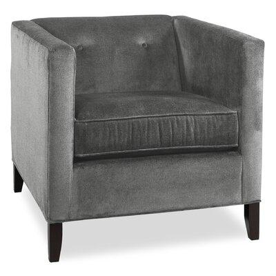 City Spaces Park Avenue Arm Chair Color: Pewter