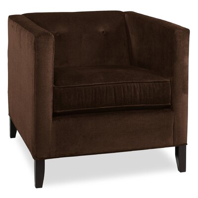 City Spaces Park Avenue Arm Chair Color: Chocolate