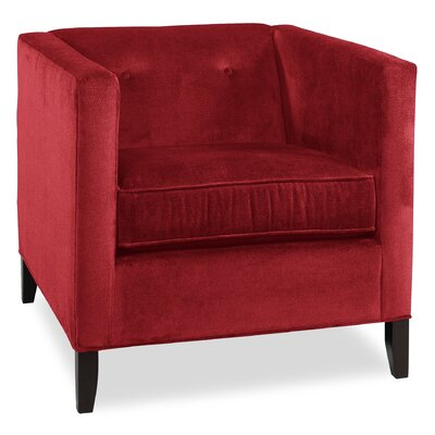 City Spaces Park Avenue Armchair Upholstery: Cherry