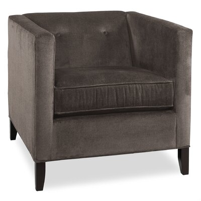 City Spaces Park Avenue Arm Chair Color: Truffle