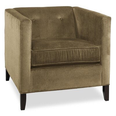 City Spaces Park Avenue Armchair Upholstery: Stone