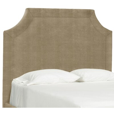 Dreamtime Upholstered Panel Headboard Size: Queen, Upholstery: Stone