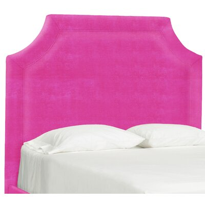 Dreamtime Upholstered Panel Headboard Size: Full, Upholstery: Fuchsia
