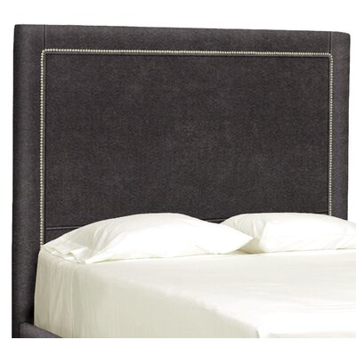 Dreamtime Upholstered Panel Headboard Size: Full, Upholstery: Dark Ash