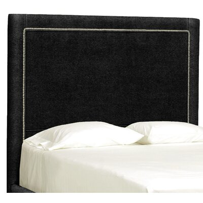 Dreamtime Upholstered Panel Headboard Size: Queen, Upholstery: Onyx