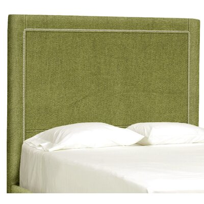 Dreamtime Upholstered Panel Headboard Size: Queen, Upholstery: Grass