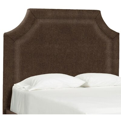 Dreamtime Upholstered Panel Headboard Size: Full, Upholstery: Chocolate