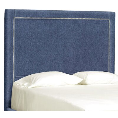 Dreamtime Upholstered Panel Headboard Size: Queen, Upholstery: Navy