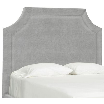 Dreamtime Upholstered Panel Headboard Size: Full, Upholstery: Pewter