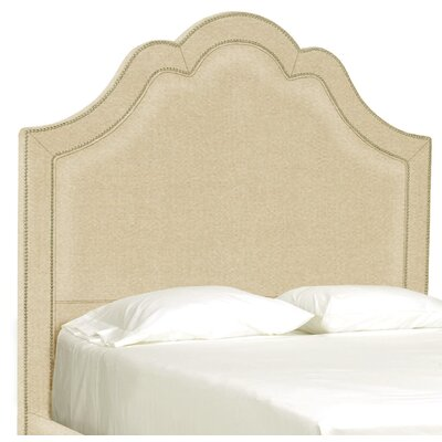 Dreamtime Upholstered Panel Headboard Upholstery: Beige, Size: Queen