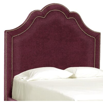 Dreamtime Upholstered Panel Headboard Size: Full, Upholstery: Merlot