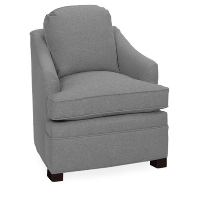 Quinn Lounge Chair Color: Pewter