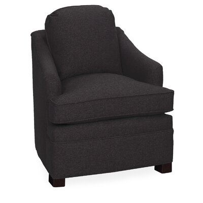 Quinn Lounge Chair Color: Dark Ash