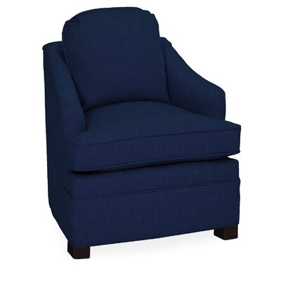 Quinn Lounge Chair Color: Navy