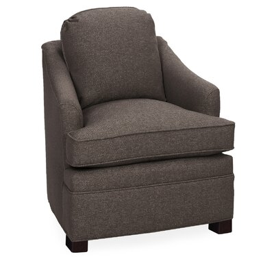 Quinn Lounge Chair Color: Truffle