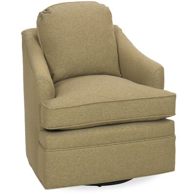 Quinn Swivel Glider Lounge Chair Color: Beige