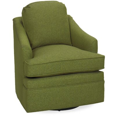 Quinn Swivel Lounge Chair Color: Grass