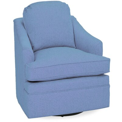 Quinn Swivel Glider Lounge Chair Color: Sky