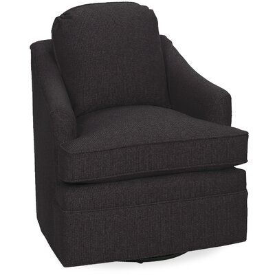 Quinn Swivel Lounge Chair Color: Dark Ash