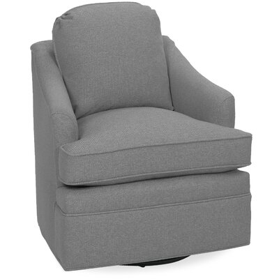 Quinn Swivel Glider Lounge Chair Color: Pewter