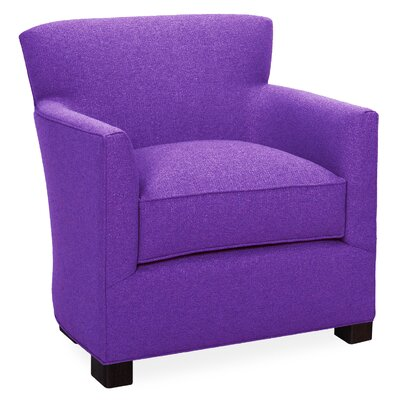 Rowan Arm Chair Color: Eggplant