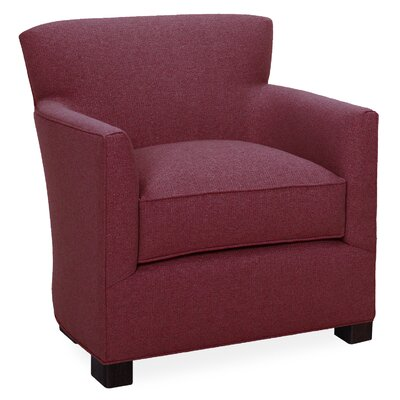 Rowan Arm Chair Color: Merlot