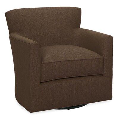 Rowan Swivel Glider Lounge Chair Color: Chocolate