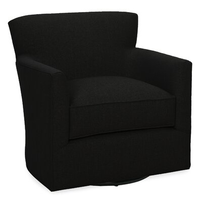 Rowan Swivel Lounge Chair Color: Onyx
