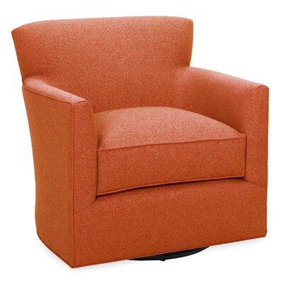 Rowan Swivel Glider Lounge Chair Color: Tangelo
